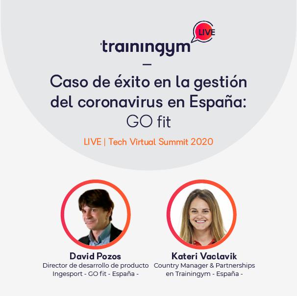 Caso de éxito en la gestión del coronavirus en España: GO fit con David Pozos y Kateri Vaclavick.