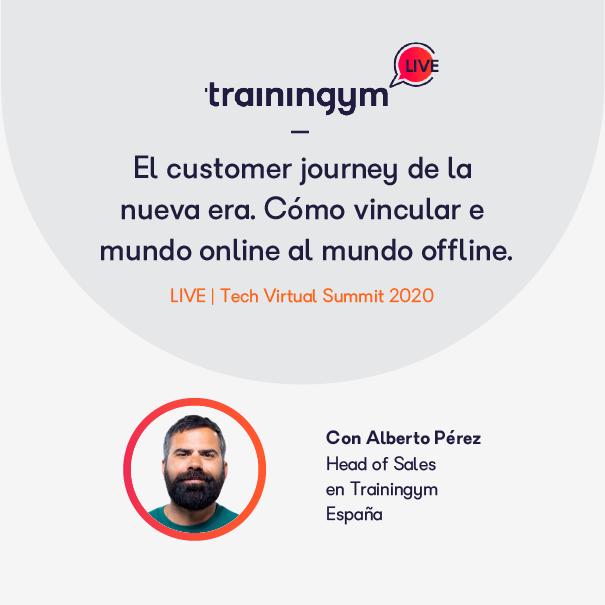 El customer journey de la nueva era. Cómo vincular el mundo online al mundo offline con Alberto Pérez.